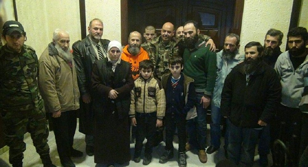 تبادل الأسرى في سوريا