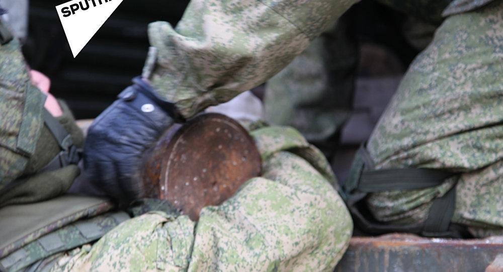 أسلحة داعش في حلب