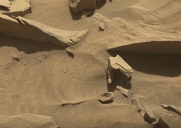 ملعقة على المريخ