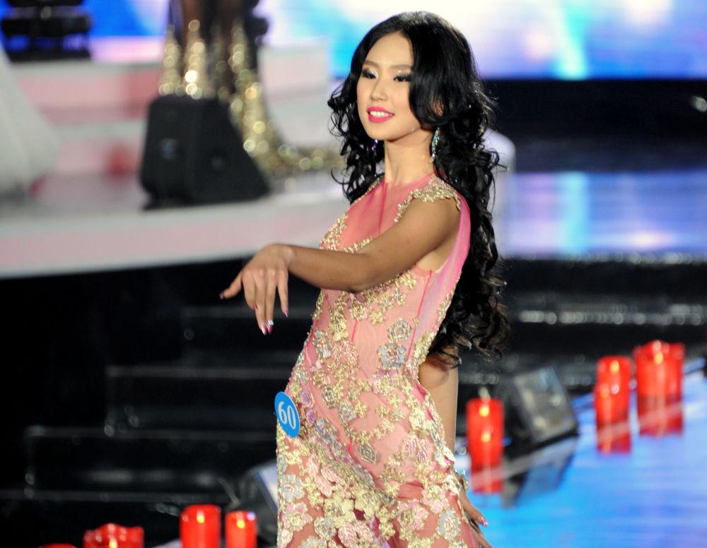 المشاركة نا ميشيرتاي من منغوليا