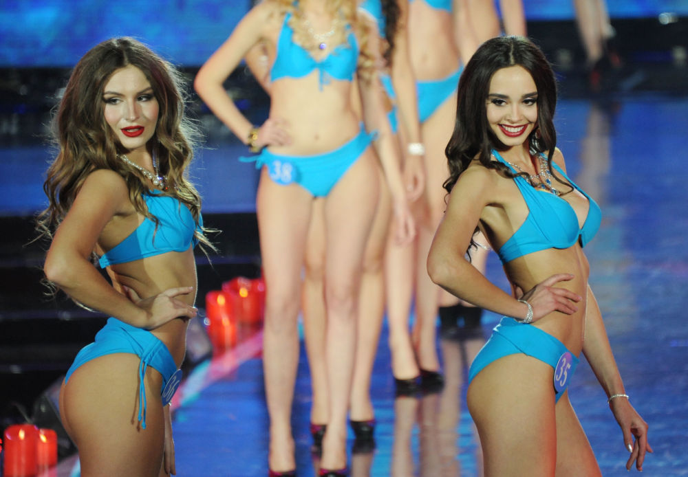 المشاركات في مسابقة ملكة الثلج في الصين