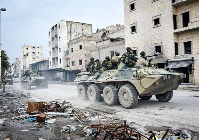 القوات الخاصة الروسية في حلب