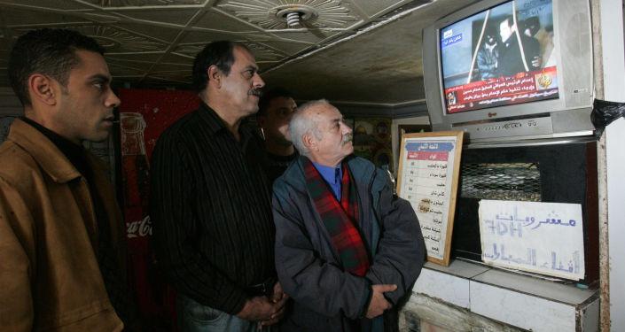 الرئيس العراقي السابق صدام حسين قبيل الاعدام، 30 ديسمبر/ كانون الأول 2006