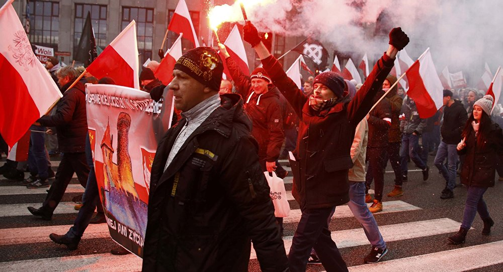 احتجاجات في بولندا