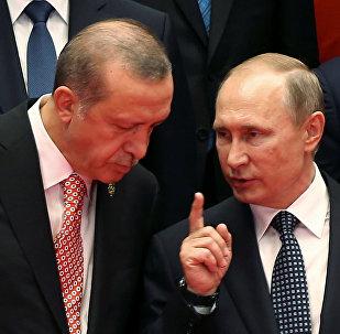 بوتين وأردوغان في قمة العشرين بالصين