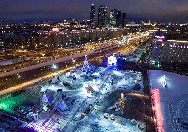 رأس السنة في موسكو