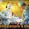 شاهد كيف يمارس الأطباء الروس عملهم في حلب