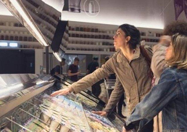 إيطاليا تفتتح سوبر ماركت المستقبل الأول في العالم