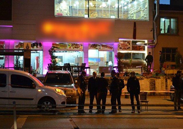 سقوط جرحى في اطلاق نار بمطعم في منطقة الفاتح في اسطنبول
