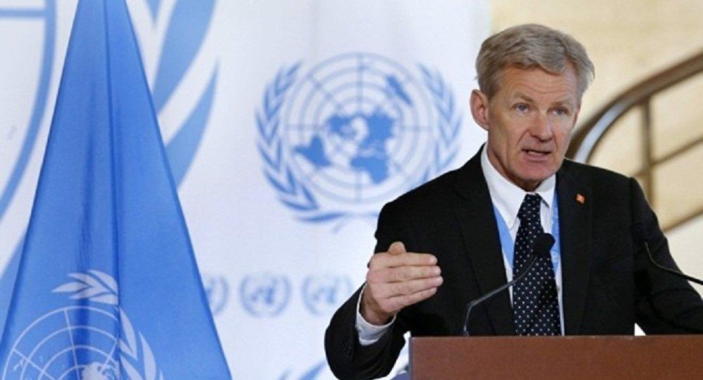 مساعد المبعوث الأممي إلى سوريا للشؤون الإنسانية، يان إيغلاند