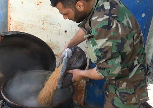 طعام الجيش السوري المفضل