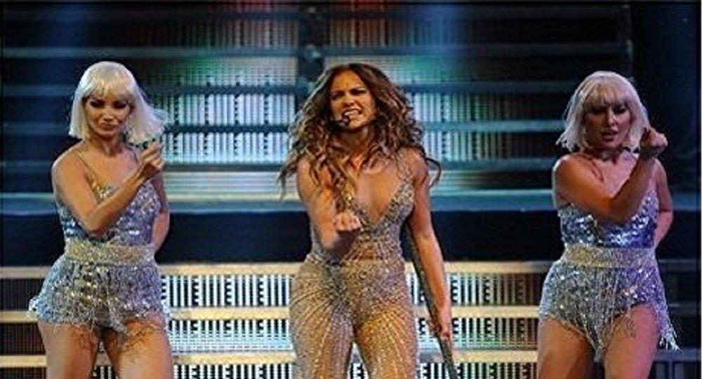 Jennifer Lopez a enflammé Moscou