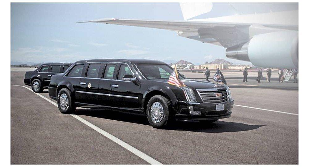 سيارة الرئيس الأمريكي المنتخب دونالد ترامب
