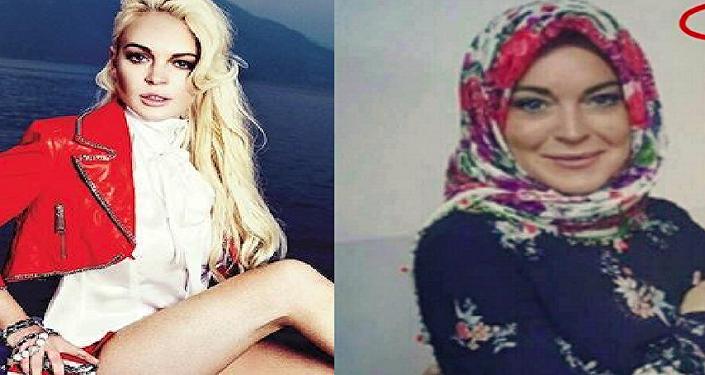 حقيقة اعتناق النجمة الأمريكية ليندسي لوهان الإسلام