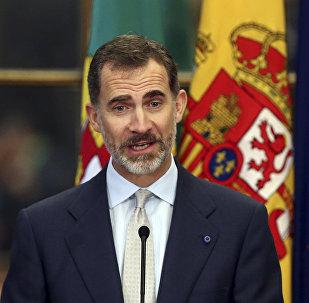 الملك الإسباني، فيليبي السادس