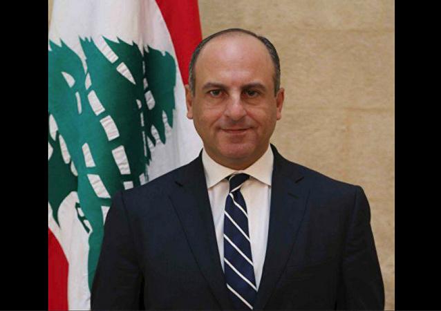 وزير الشؤون الاجتماعية اللبناني بيار ابو عاصي