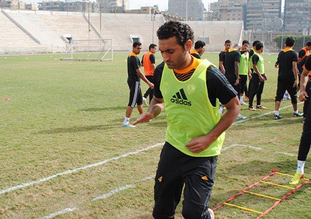 اللاعب أحمد سمير