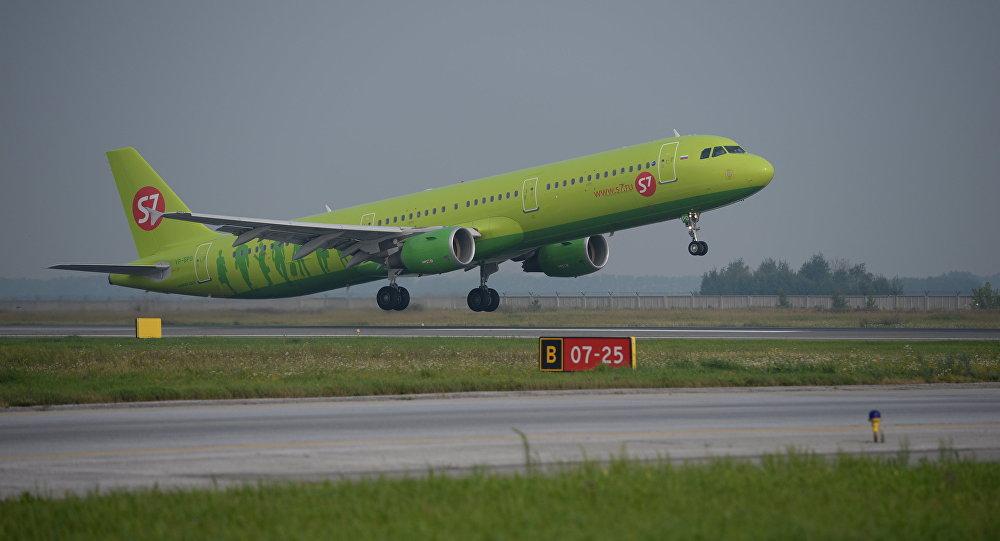 الطائرة الروسية s7