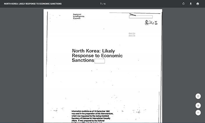 وثائق الاستخبارات الأمريكية