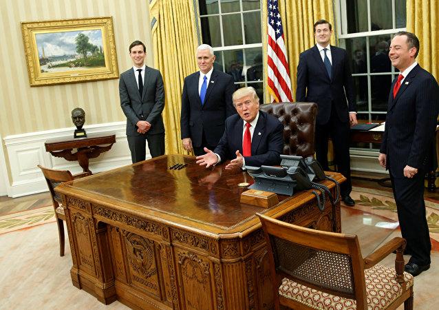 الرئيس الأمريكي دونالد ترامب