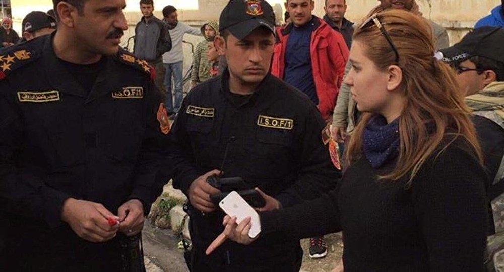 ملكة جمال بغداد في أخطر وأخر معاقل داعش