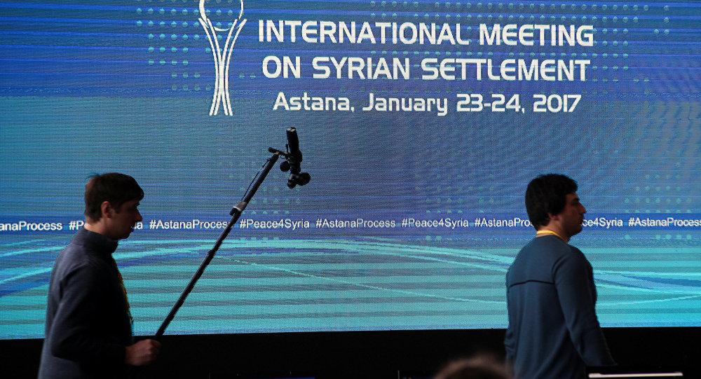 محادثات التسوية السورية في أستانا