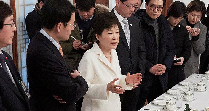 رئيسة كوريا الجنوبية باك هون هاي