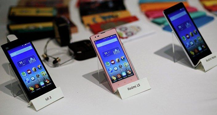 هواتف شركة تشاومي الصينية