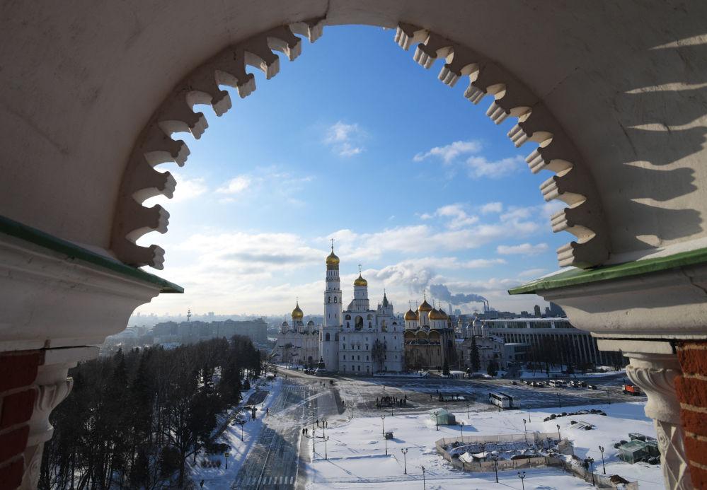 داخل الكرميلن الروسي...تحف معمارية