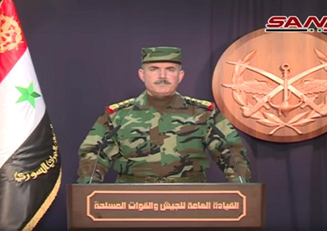 بيان للجيش السوري