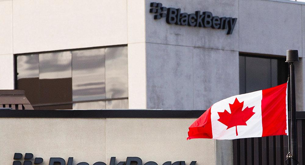 شركة بلاكبيري الكندية
