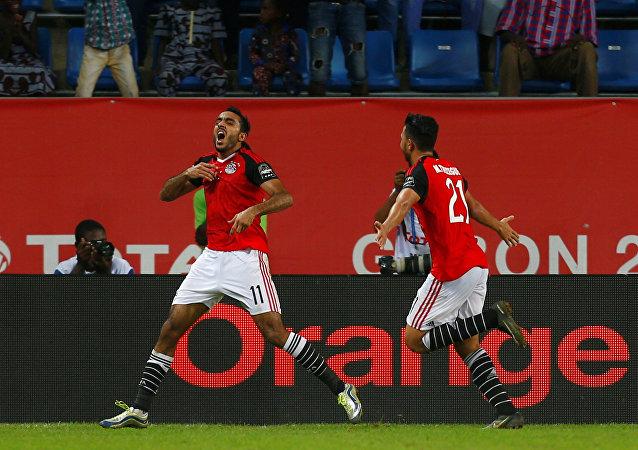 هدف فوز منتخب مصر على المغرب