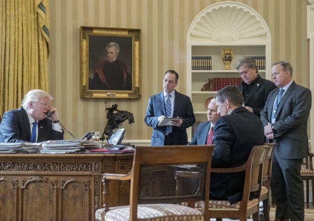 مكالمة هاتفية بين ترامب وبوتين