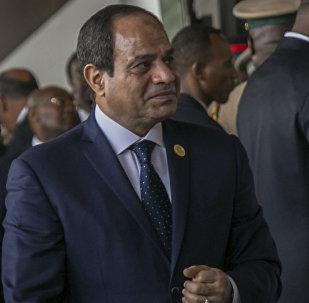 رئيس جمهورية مصر العربية عبدالفتاح السيسي