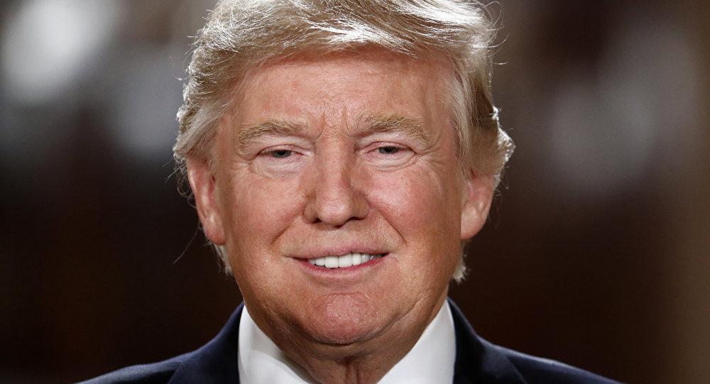 رئيس الولايات المتحدة الأمريكية دونالد ترامب