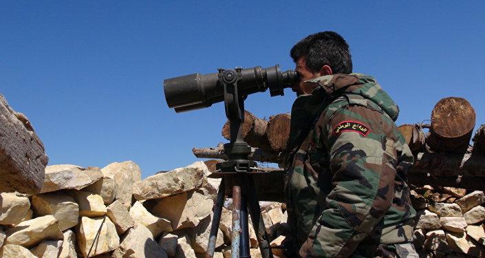 مجموعات الاستطلاع في الجيش السوري