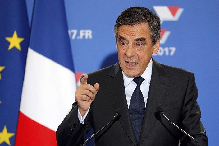 المرشح للانتخابات الرئاسية عن أحزاب اليمين فرنسوا فيون