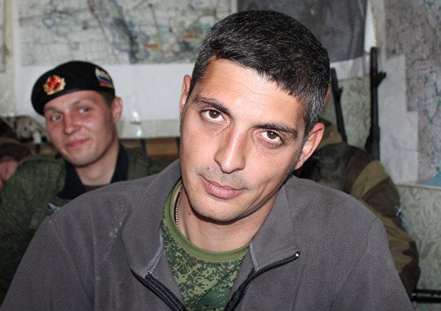ميخائيل تولستيخ، قائد كتيبة الصومال