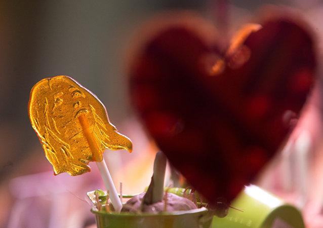 الشيكولاتة في عيد الحب