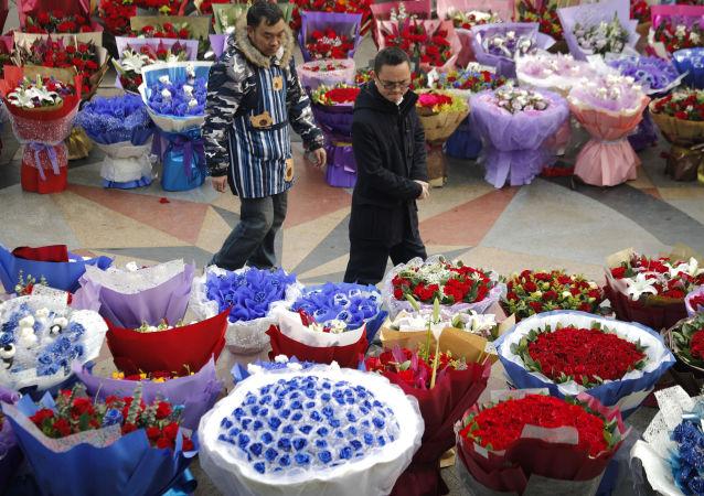 يوم الفالنتاين في بكين، الصين