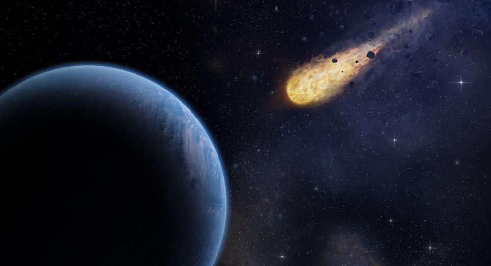 كويكب يصدم بالأرض