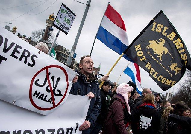 مظاهرة ضد أسلمة الدول الاوربية