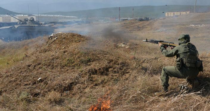 تمرين عسكري في جنوب روسيا