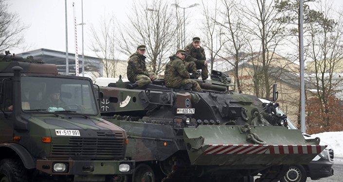 قوات من الجيش الألماني