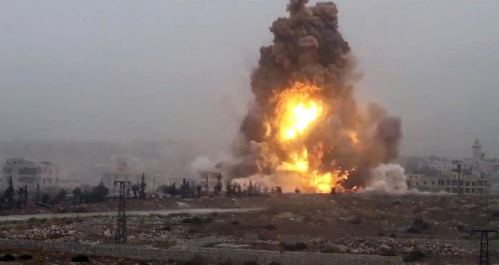 انفجار (صورة أرشيفية)