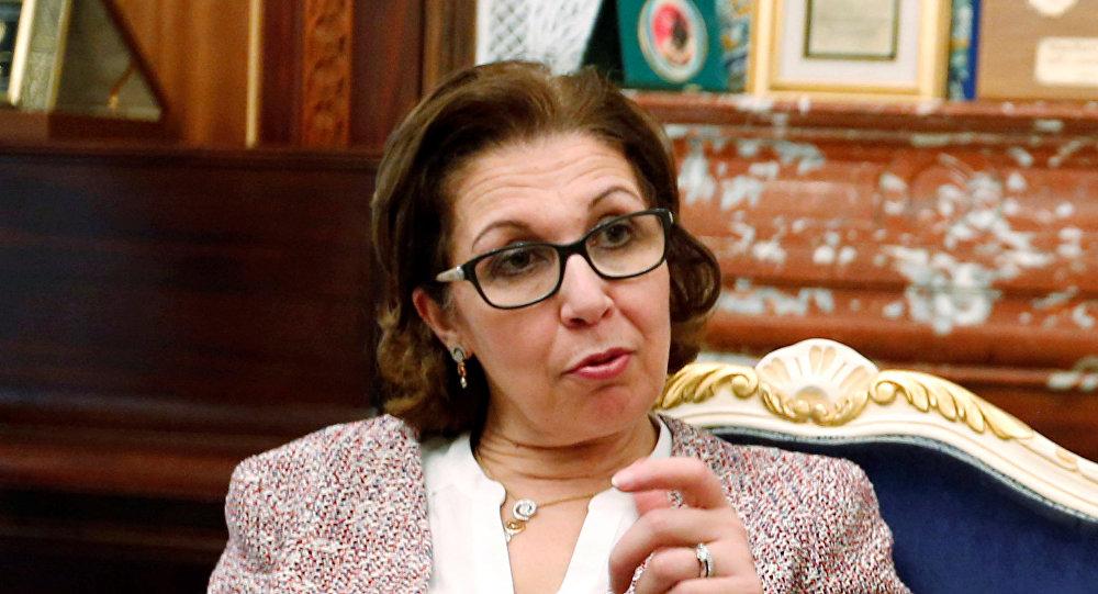 وزيرة المالية التونسية لمياء الزريبي