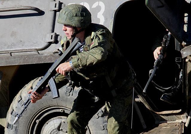 أفراد القوات الخاصة الروسية
