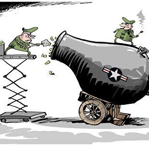 الكونغرس الأمريكي يعتبر أن 603 مليار دولار غير كافي لميزانية الدفاع