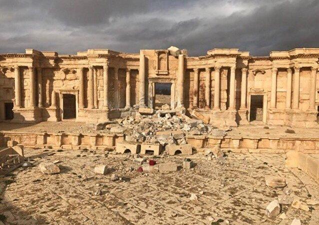 تدمر بعد تحريرها من داعش