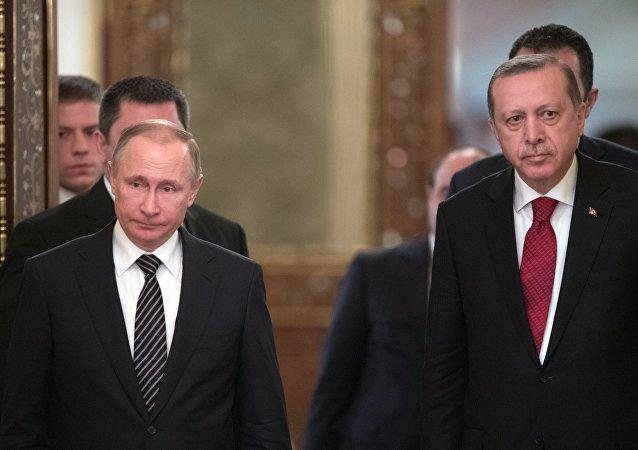 االرئيس الروسي والتركي